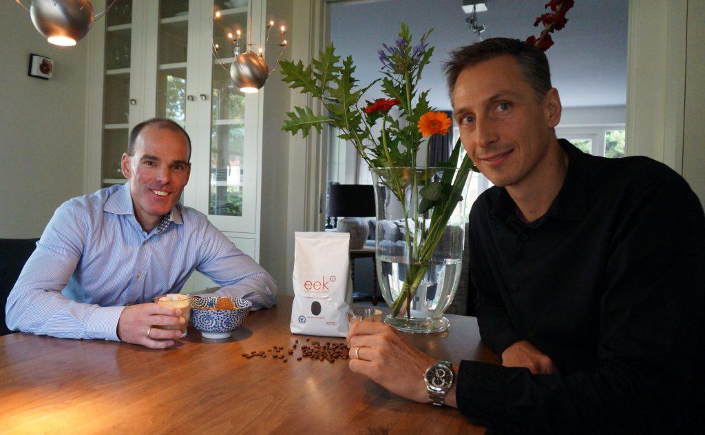 Rémi Jansen en Marcel Weijers van eek Coffee.