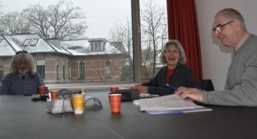 Het Platform Wmo in vergadering in het gemeentehuis in Bussum. Foto: Pieter Verbeek.
