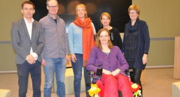 Leden van de Inclusietafel Krimpen. Foto: Pieter Verbeek.